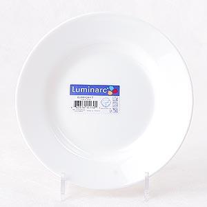 фото: Тарелка глубокая Директор белый, 22 см. [G0563]