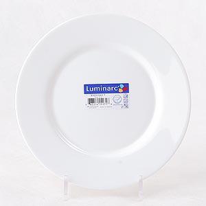 фото: Тарелка обеденная Директор белый, 24 см. [G0564]
