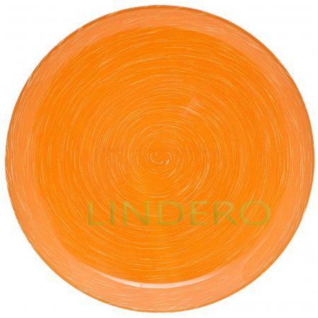 фото: Тарелка обеденная Stonemania Orange, 25 см [H3557]