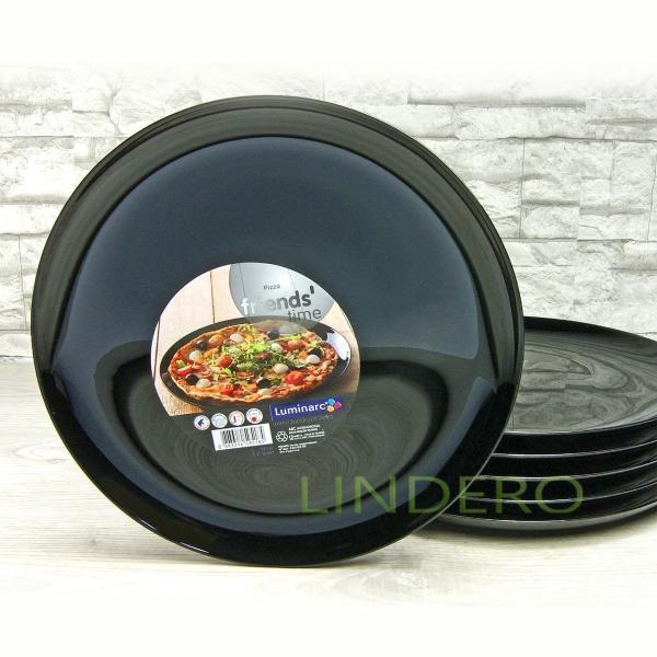 фото: Блюдо для пиццы ФРЕНДС ТАЙМ БЛЭК [M0066]
