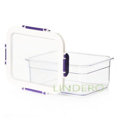 фото: Контейнер для продуктов 2200 мл фиолетовый [ots161420-003]