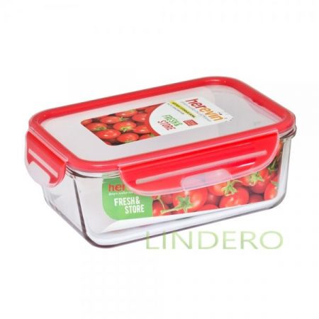 фото: Контейнер для продуктов 1600 мл красный [ots161615-001]