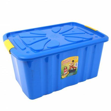 фото: Ящик для игрушек на колесах высокий [C301]