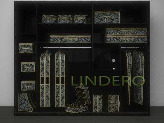 фото: Подвесной кофр (органайзер) для обуви и бытовых мелочей 120х22х30см. (Прованс) [1320]