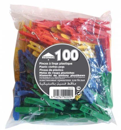 фото: Набор пластиковых прищепок 100шт [R102229]