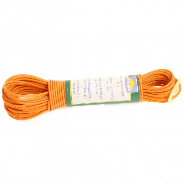 фото: Веревка для белья пластик 20м с фиксатором [R104020]