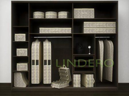фото: Подвесной кофр (органайзер) открытый для обуви и бытовых мелочей 120х22х30см. (Сафари) [520/0]