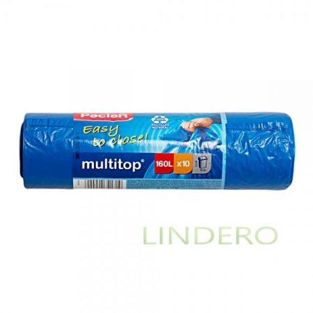 фото: Мешки для мусора MULTITOP 160л 125×90см 10шт (134442) [spk41719]
