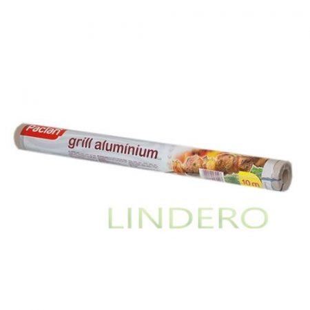 фото: Фольга алюминиевая для гриля 10м х 45см в рулоне (134052) [spk70203]