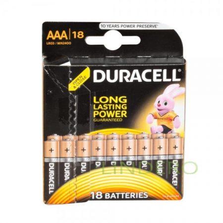 фото: Duracell  Элемент питания  Basic  Alkaline  LR03-18BL уп.18шт [ts06-1]
