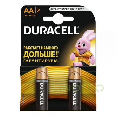 фото: Duracell  Элемент питания  Basic  Alkaline  LR06 отрывной 26 BL12 уп.2шт [ts07-1]