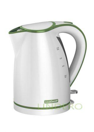 фото: Чайник Ладомир-327 арт4 Зелен. 1,7л 2,0кВт,диск