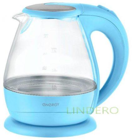 фото: Чайник ENERGY Е-266 голубой 1,5л,диск