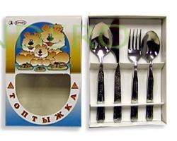 фото: Н-р Топтыжка Детский 4 пр. карт.коробка 1С31