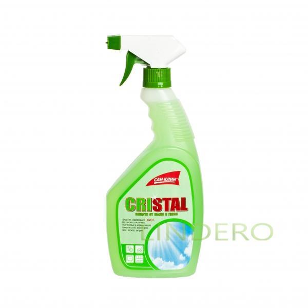 фото: Средство для чистки стекол КРИСТАЛЛ зеленое [XS10121049]