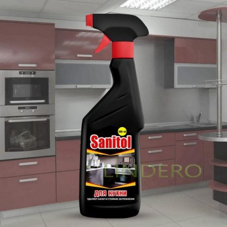 фото: Sanitol для кухни универсальное чистящее средство с распылителем [ЧС-25]