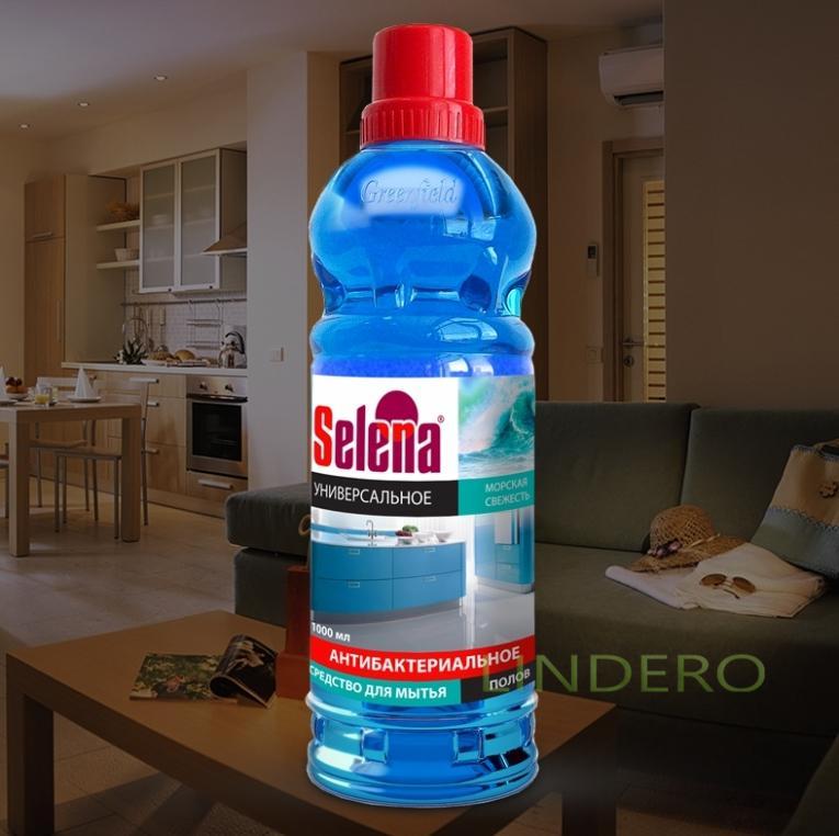 фото: Средство для мытья полов 1л.Антибактериальное Морская свежесть [МО-45]