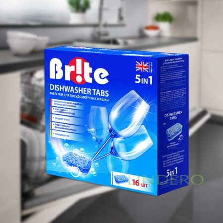 фото: Таблетка для посудомоечных машин 16шт в упаковке [МО-010]