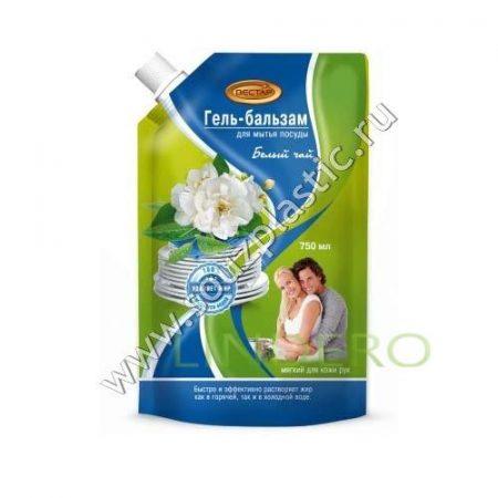 фото: Гель-бальзам для мытья посуды Белый чай 750 мл [П4]