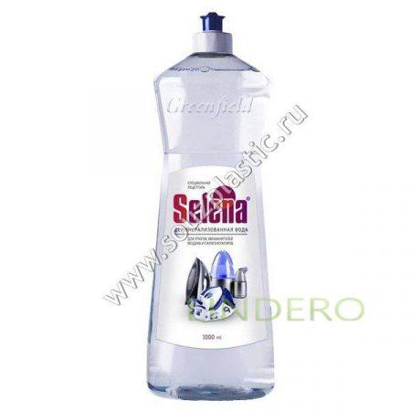 фото: Вода для утюгов Selena деминерализованная 1л [БХ-54]