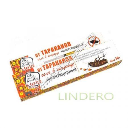 фото: Гель против тараканов для профес. HELP применения, в шприце 30 г инсектицидный [80272]