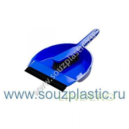 фото: Набор 'Лаура' щетка+совок с кромкой (цвета в ассортименте) [SV3026]