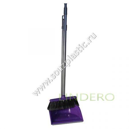 фото: Набор для уборки помещений ЛЕНИВКА ЛЮКС (складная) Фиолетовый [М 5179Ф]
