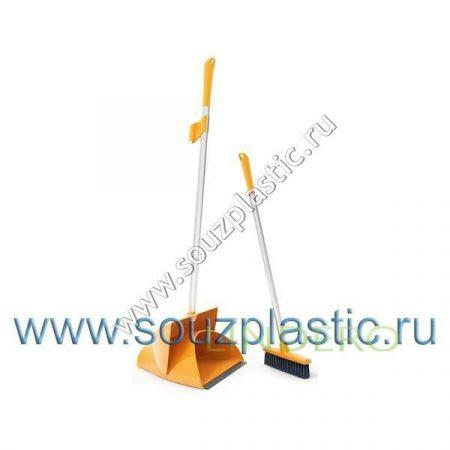 фото: Набор Ориджинал ОГРОМНЫЙ щетка+совок (цвета в ассортименте) [SV3135]