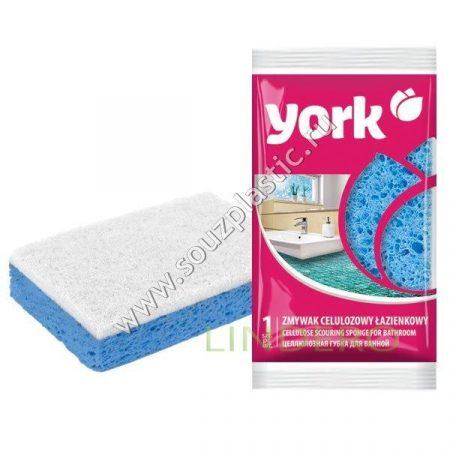 фото: Губка целлюлозная для ванной YORK [035020]