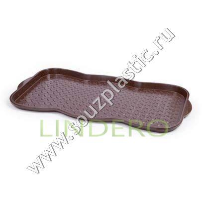 фото: Поддон для обуви шоколадный [АС 19845000]
