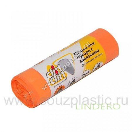 фото: Мешки для мусора с завязками LDPE 35л 20 шт [CL309]