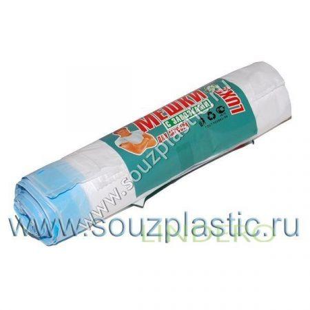 фото: Мешок для мусора с завязками 120л (10шт.) (рулон) 20мкр [671000]