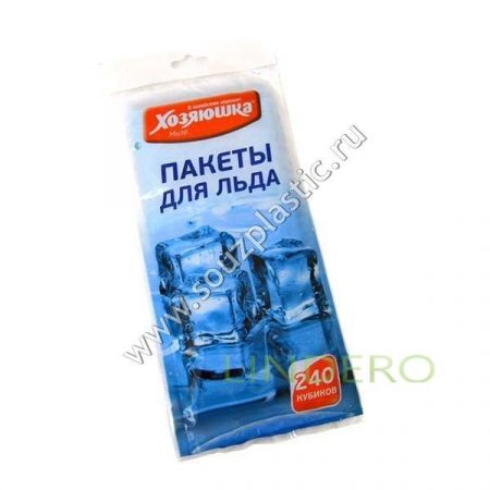 фото: Пакет для льда 'Хозяюшка Мила' 240 кубиков 1/100 [09023]