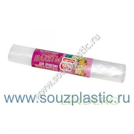 фото: Пакеты для хранения продуктов (26*40) 100шт.6мкр [671253/2640100]