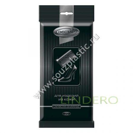фото: Салфетки влажные Вестар Для изделий из кожи (20 шт) [X3]
